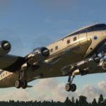 DC-6 von PMDG airborne*